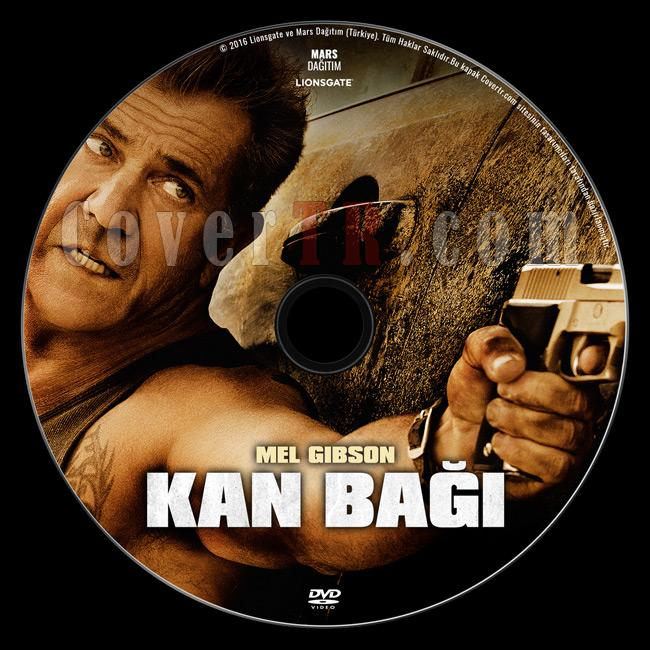 Blood Father (Kan Bağı) - Custom Dvd Label - Türkçe [2016]-previewjpg