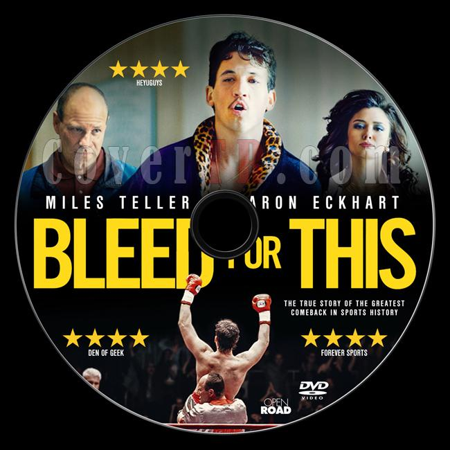 Bleed for This - Custom Dvd Label - English [2016]-previewjpg