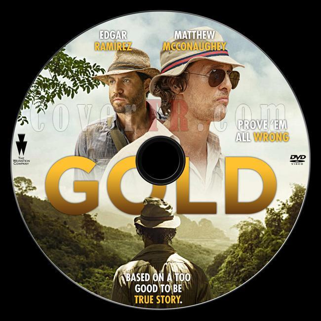 Gold - Custom Dvd Label - English [2016]-previewjpg