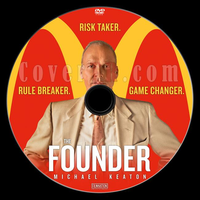 The Founder - Custom Dvd Label - English [2016]-previewjpg