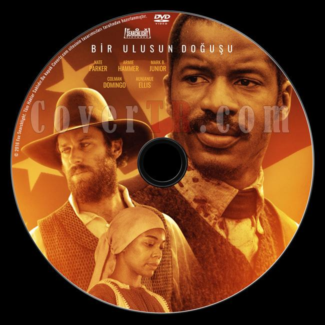 The Birth of a Nation (Bir Ulusun Doğuşu) - Custom Dvd Label - Türkçe [2016]-previewjpg