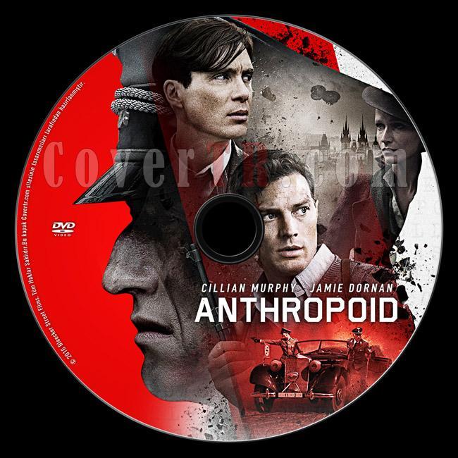 Anthropoid - Custom Dvd Label - Türkçe [2016]-previewjpg