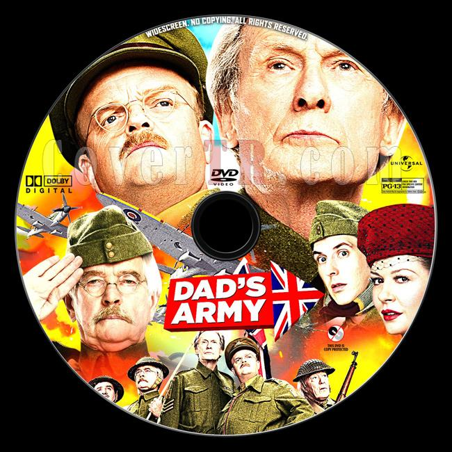 Dad's Army - Custom Dvd Label - English [2016]-dads-army-dvd-labeljpg