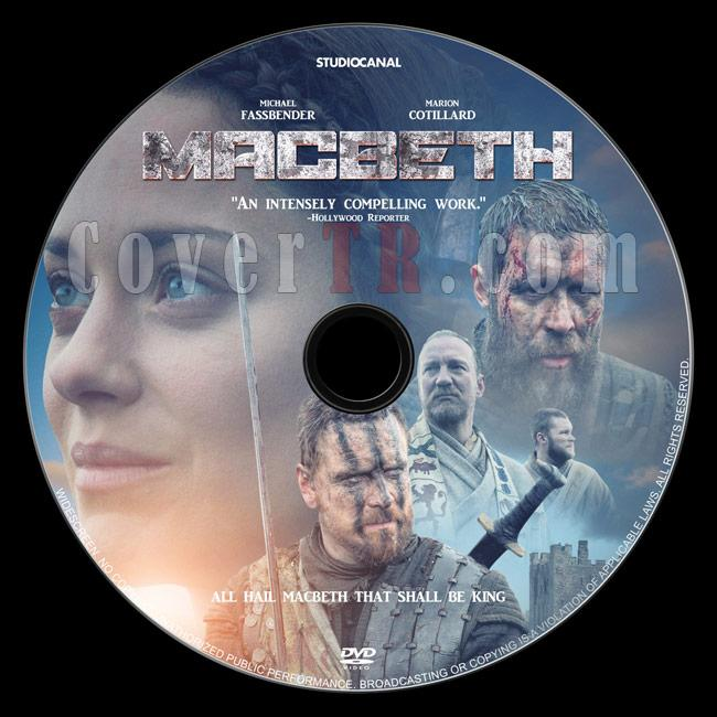Macbeth - Custom Dvd Label - English [2015]-1jpg