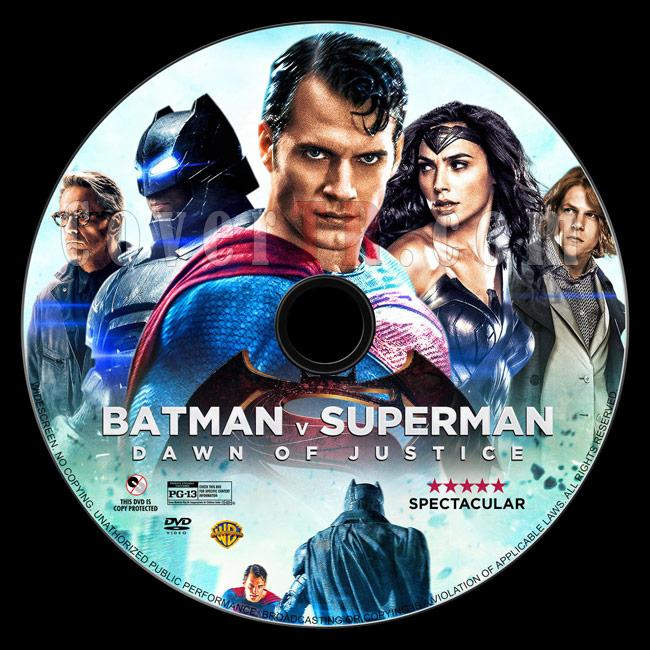 Batman v Superman: Dawn of Justice - Custom Dvd Label - English [2016]-2jpg