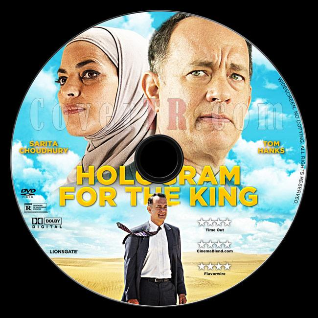 A Hologram for the King - Custom Dvd Label - English [2016]-2jpg