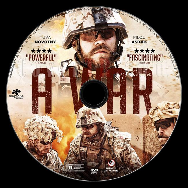 A War - Custom Dvd Label - English [2016]-2jpg