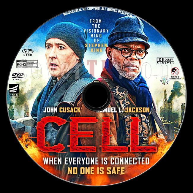 Cell - Custom Dvd Label - English [2016]-preview2jpg