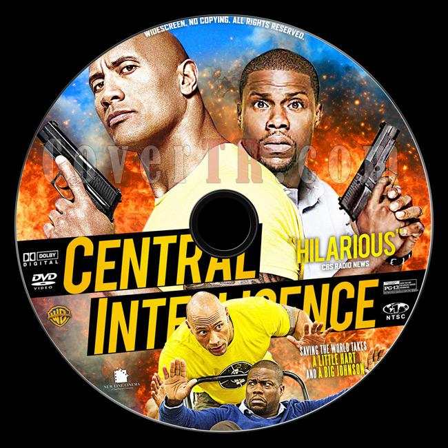 Central Intelligence - Custom Dvd Label - English [2016]-1jpg