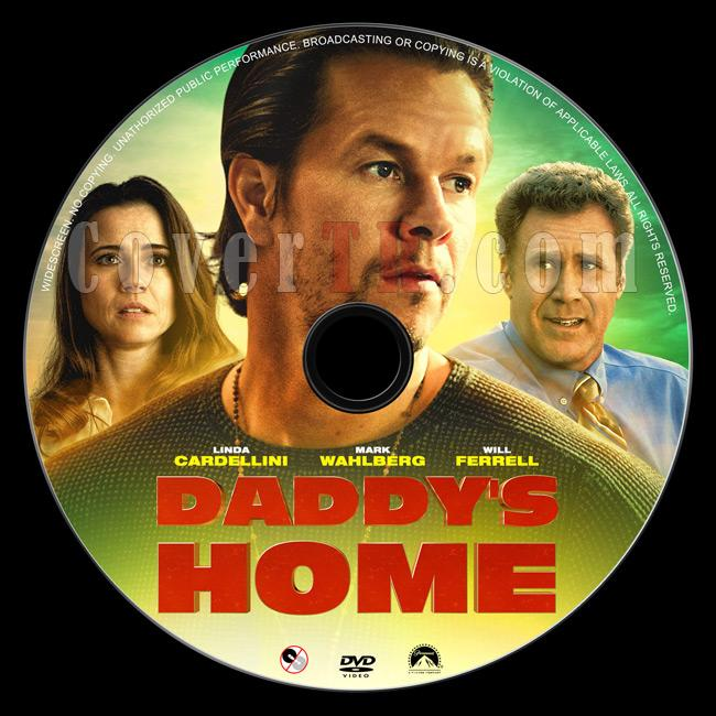 Daddy's Home - Custom Dvd Label - English [2015]-1jpg
