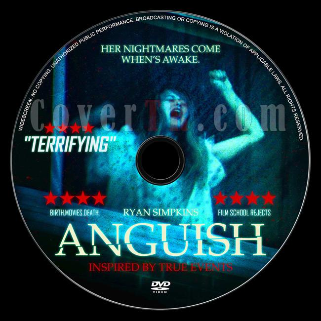 Anguish - Custom Dvd Label - English [2015]-2jpg
