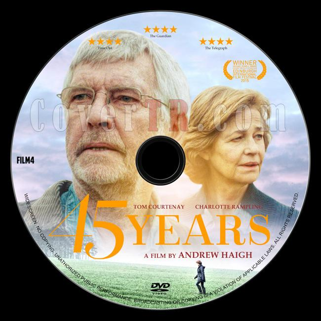 45 Years - Custom Dvd Label - English [2015]-2jpg