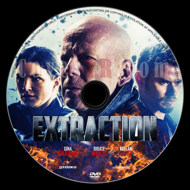 Extraction - Custom Dvd Label - English [2015]-2jpg
