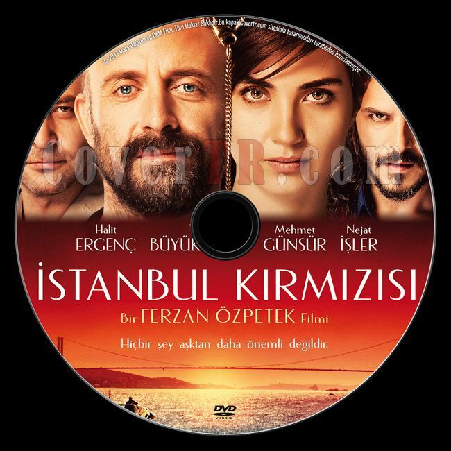 İstanbul Kırmızısı - Custom Dvd Label - Türkçe [2017]-previewjpg