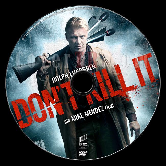 Don't Kill It - Custom Dvd Label - Türkçe [2016]-previewjpg