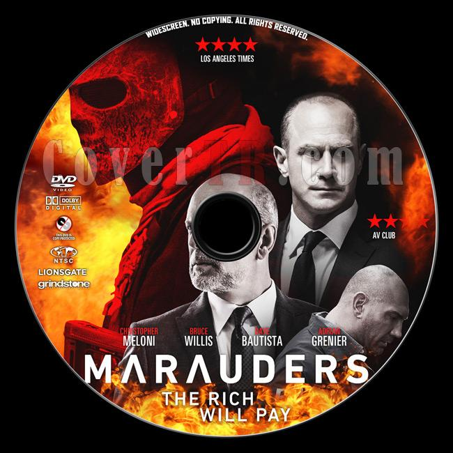 Marauders - Custom Dvd Label - English [2016]-1previewjpg