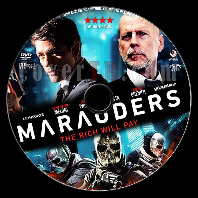 Marauders - Custom Dvd Label - English [2016]-2prevewjpg