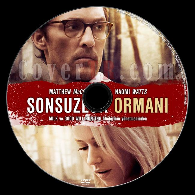 The Sea Of Trees (Sonsuzluk Ormanı) - Custom Dvd Label - Türkçe [2016]-previewjpg