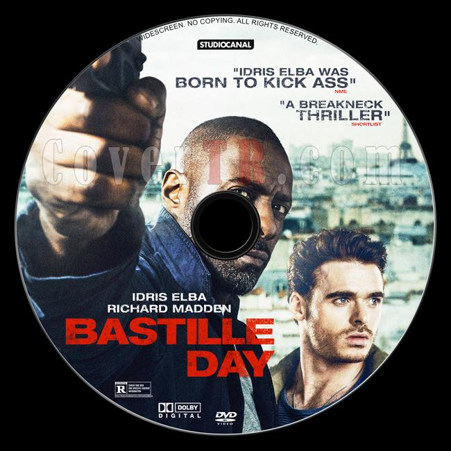 Bastille Day - Custom Dvd Label - English [2016]-1jpg