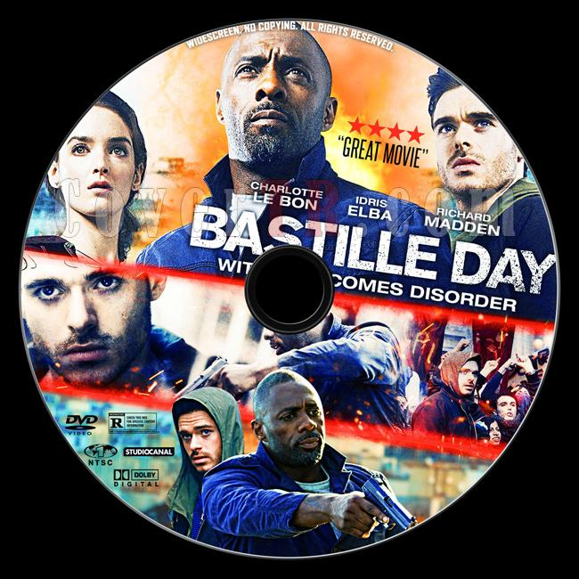 Bastille Day - Custom Dvd Label - English [2016]-2jpg