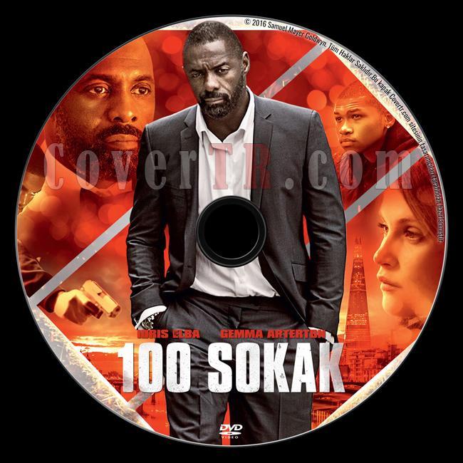 100 Streets (100 Sokak) - Custom Dvd Label - Türkçe [2016]-2jpg