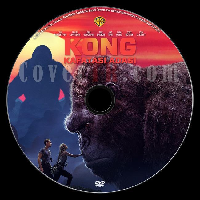 Kong: Skull Island - (Kong: Kafatası Adası) - Custom Dvd Label - Türkçe [2017]-previewjpg