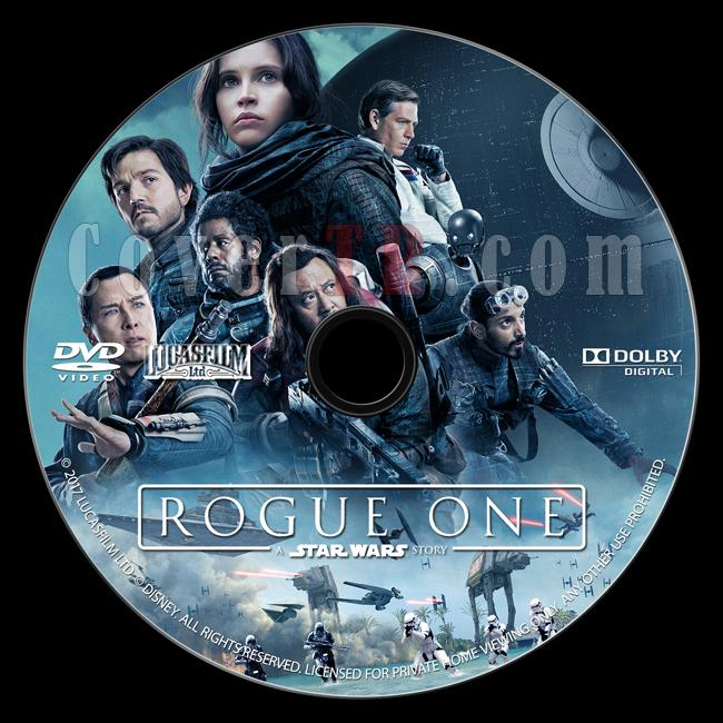 Rogue One: A Star Wars Story (Rogue One: Bir Star Wars Hikayesi) - Custom Dvd Label - English [2016]-onizlemejpg