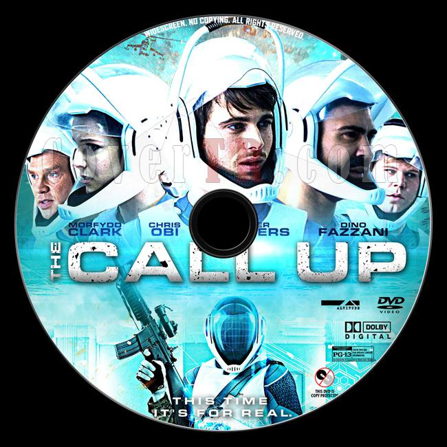The Call Up (Simulasyon) - Custom Dvd Label - English [2016]-3jpg