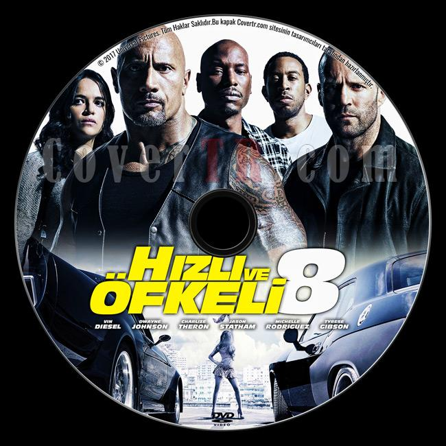 The Fate Of The Furious (Hızlı ve Öfkeli 8) - Custom Dvd Label - Türkçe [2017]-previewjpg