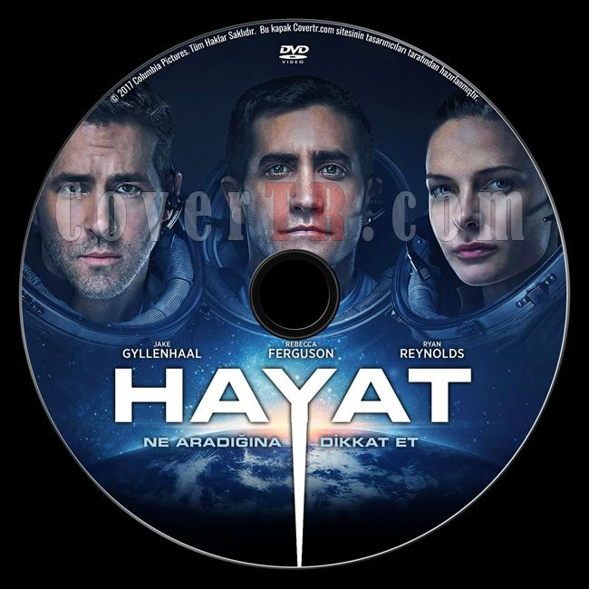 Life (Hayat) - Custom Dvd Label - Türkçe [2017]-previewjpg