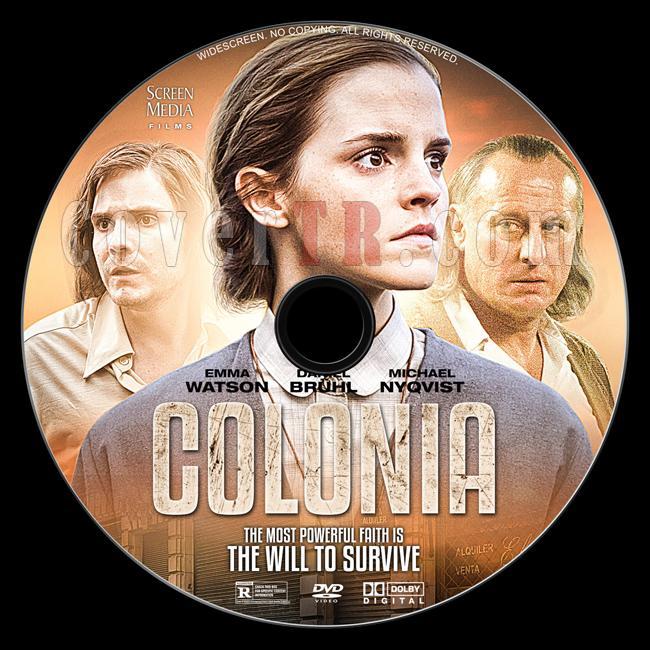 Colonia - Custom Dvd Label - English [2015]-1jpg