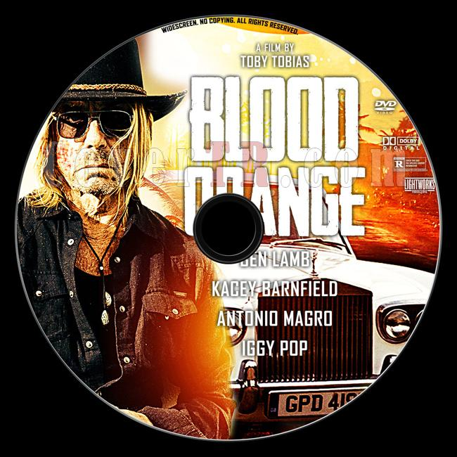 Blood Orange - Custom Dvd Label - English [2016]-3jpg