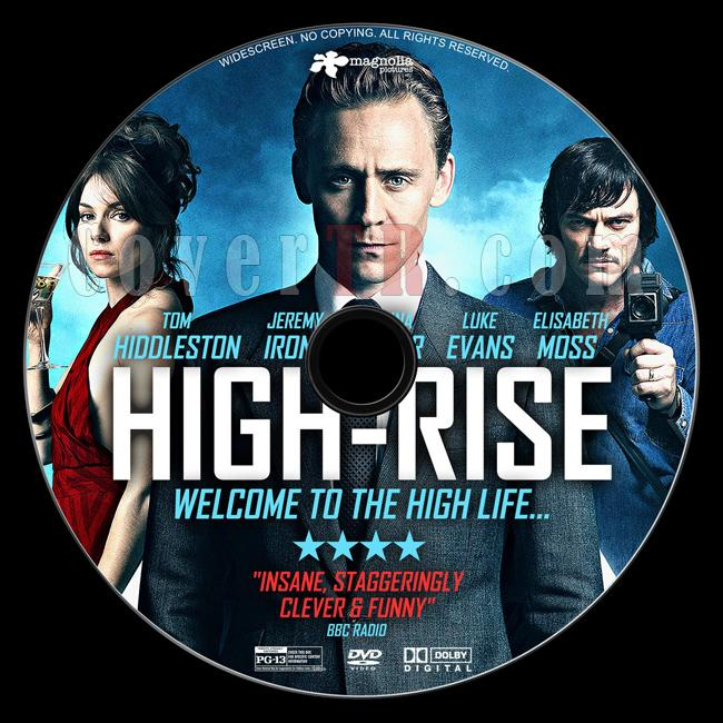High-Rise - Custom Dvd Label - English [2015]-4jpg