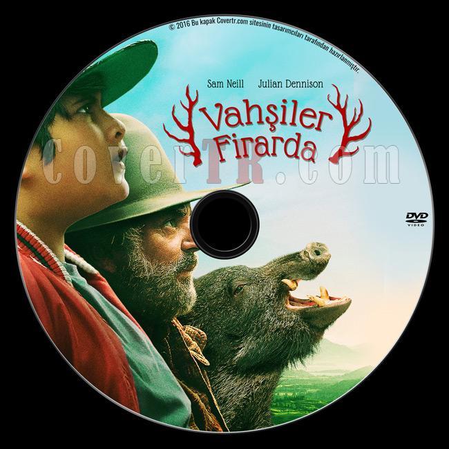 Hunt for the Wilderpeople (Vahşiler Firarda) - Custom Dvd Label - Türkçe [2016]-2jpg