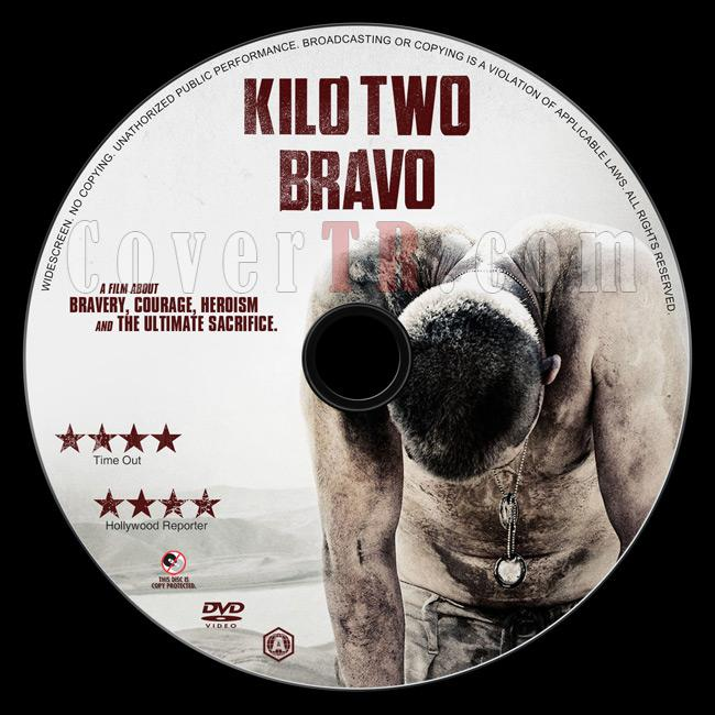 Kilo Two Bravo (Mayınlar Arasında) - Custom Dvd Label - English [2014]-2jpg