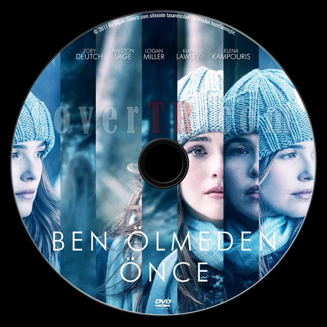 Before I Fall (Ben Ölmeden Önce) - Custom Dvd Label - Türkçe [2017]-previewjpg