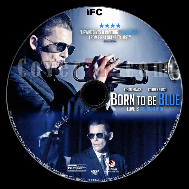 Born to Be Blue - Custom Dvd Label - English [2015]-dvd1jpg
