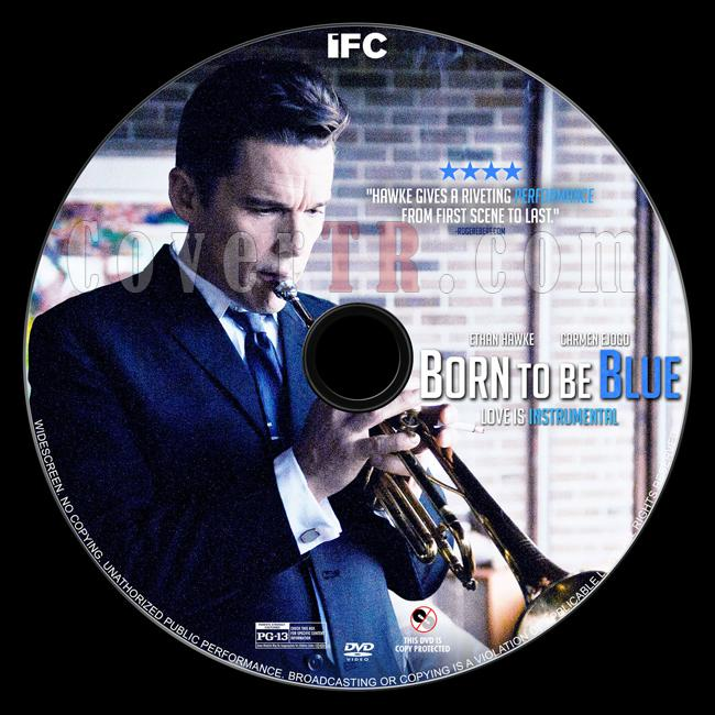 Born to Be Blue - Custom Dvd Label - English [2015]-dvd2jpg
