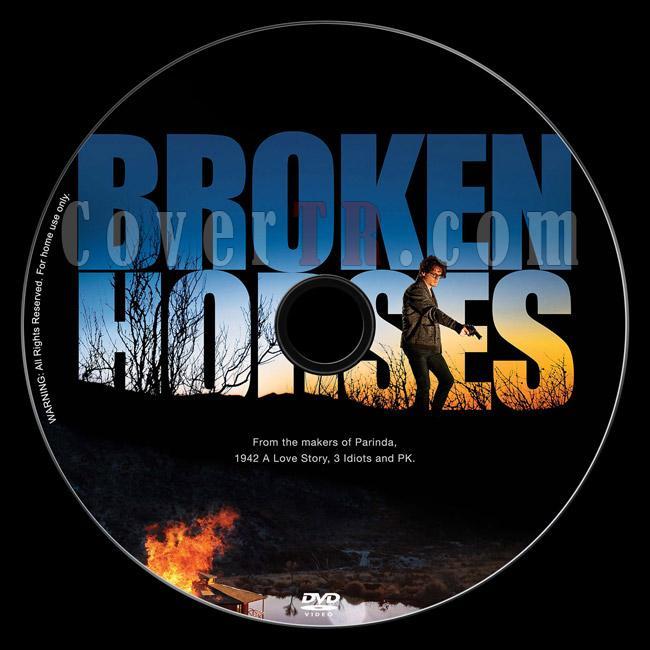 Broken Horses - Custom Dvd Label - English [2015]-2jpg