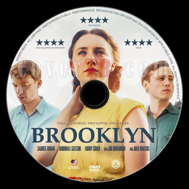 Brooklyn - Custom Dvd Label - English [2015]-1jpg