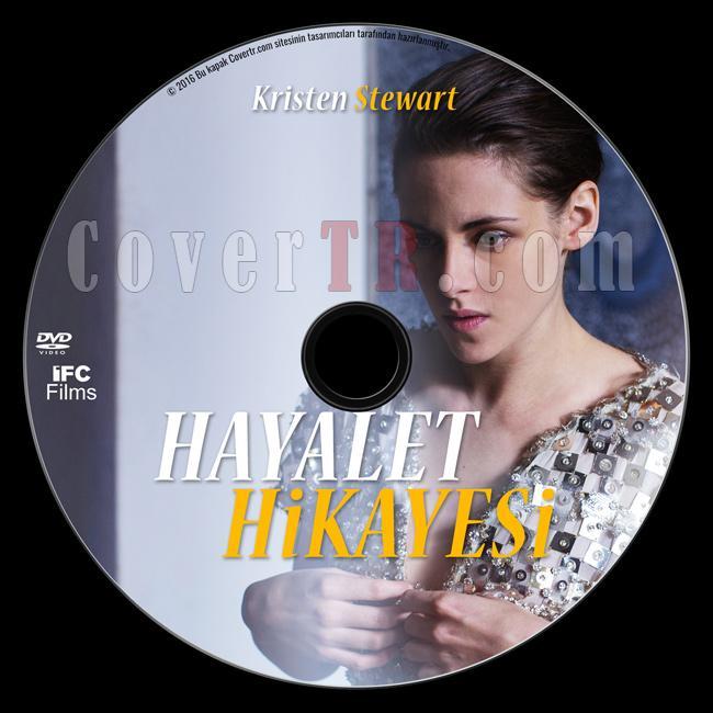 Personal Shopper (Hayalet Hikayesi) - Custom Dvd Label - Türkçe [2016]-1jpg
