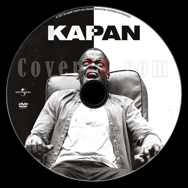 Get Out (Kapan) - Custom Dvd Label - Türkçe [2016]-1jpg