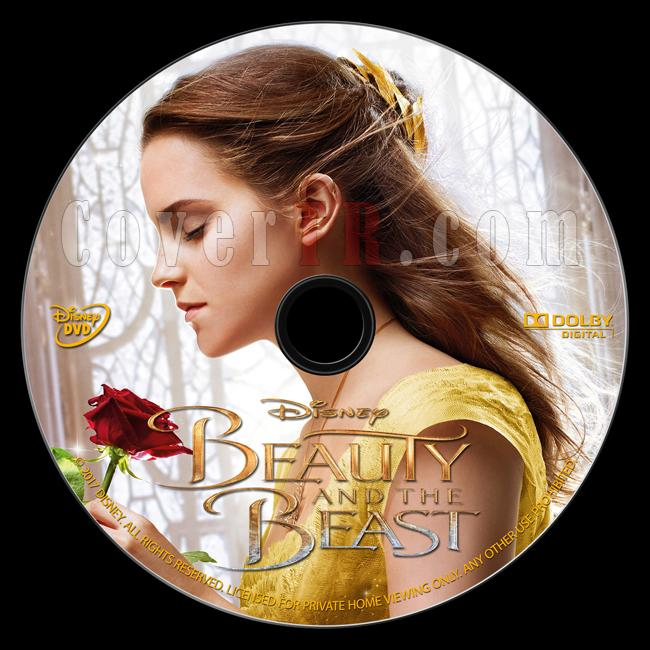 Beauty and the Beast (Güzel ve Çirkin) - Custom Dvd Label - English [2017]-onizlemejpg