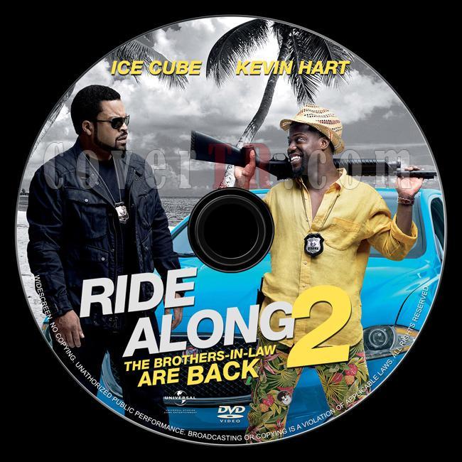 Ride Along 2 - Custom Dvd Label - English [2016]-1jpg