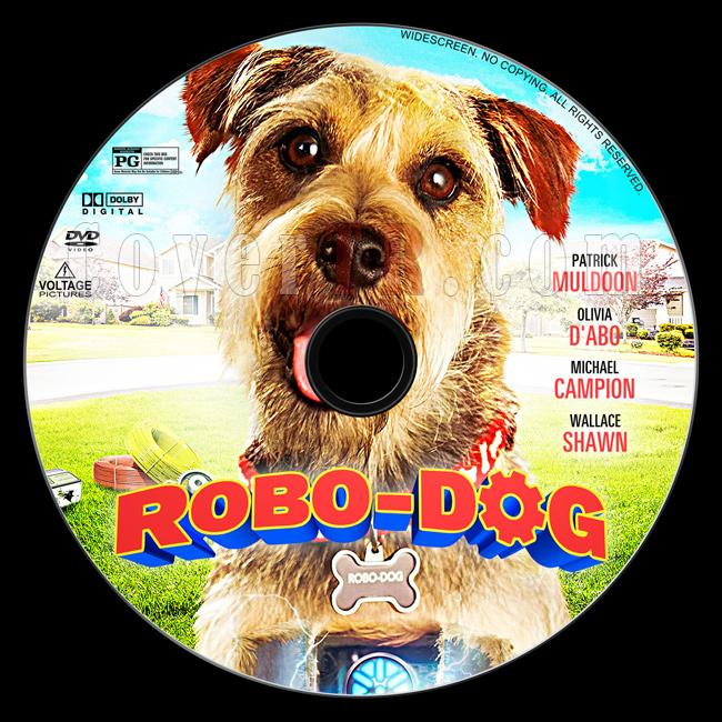 Robo-Dog - Custom Dvd Label - English [2015]-1jpg