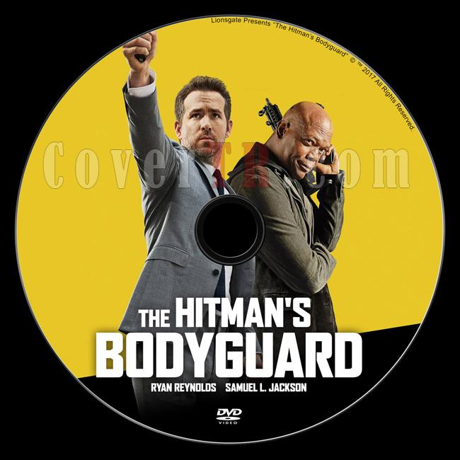 The Hitman's Bodyguard (Belalı Tanık) - Custom Dvd Label - English [2017]-4jpg