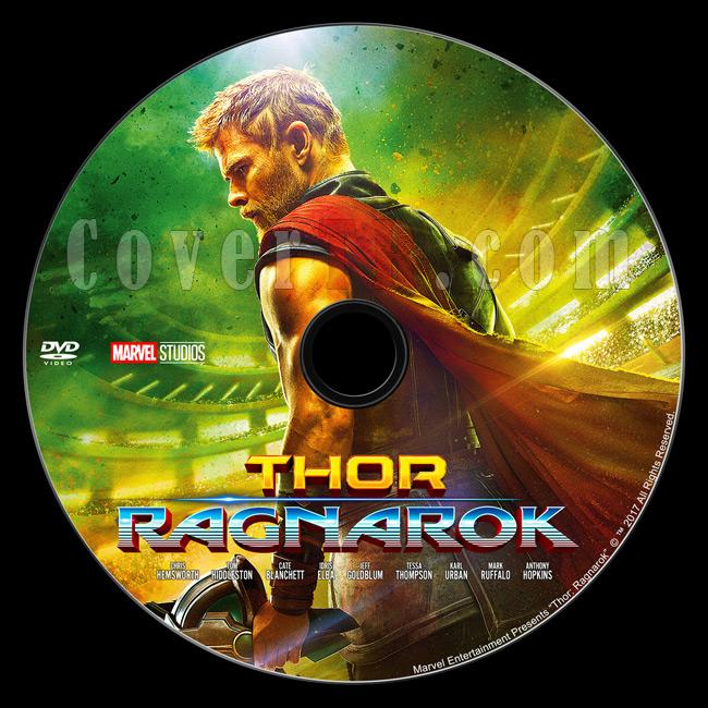 Thor 3: Ragnarok - Custom Dvd Label - English [2017]-dvd1jpg