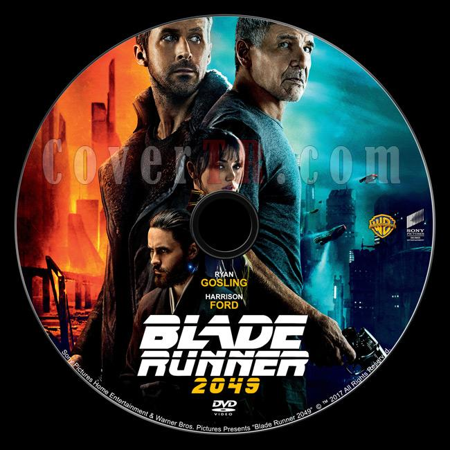 Blade Runner 2049 - Custom Dvd Label - English [2017]-1jpg