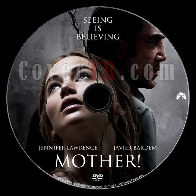 Mother! - Custom Dvd Label - English [2017]-1jpg