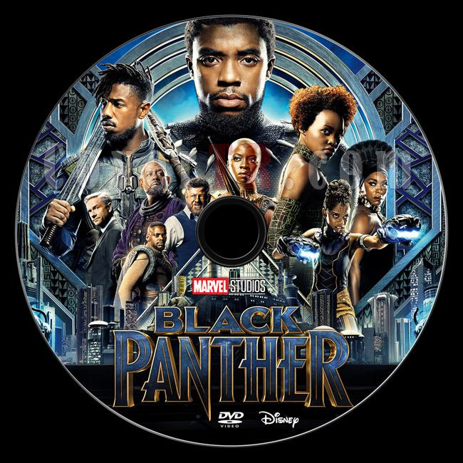 Black Panther - Custom Dvd Label - English [2017]-dvd1jpg
